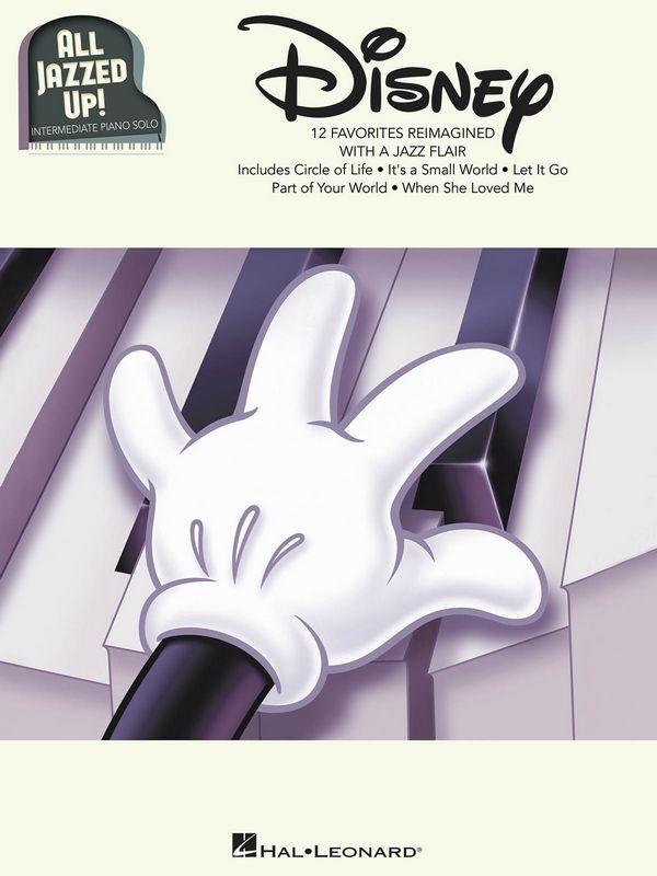 All jazzed up - Disney: for piano solo