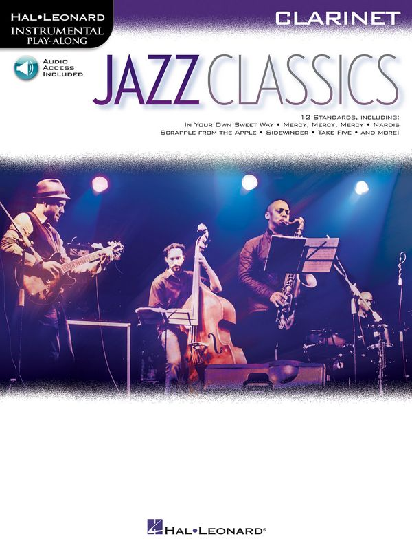 HL00151813 Jazz Classics (+Audio Online): for clarinet