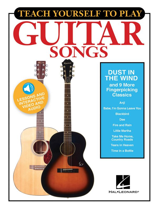 Dust in the Wind and 9 more Fingerpicking Classics (+Online Media): for guitar/tab