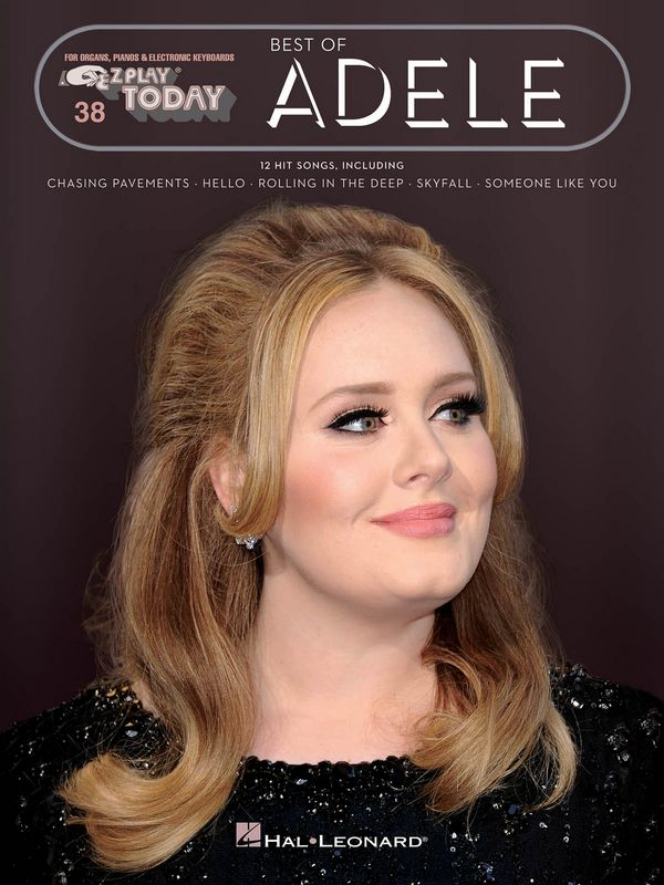 Best of Adele: for keyboard (organ/piano)