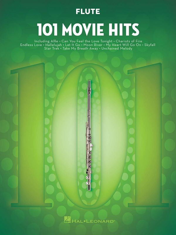 101 Movie Hits: for flute