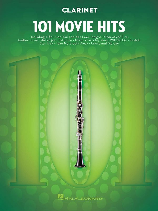 101 Movie Hits: for clarinet