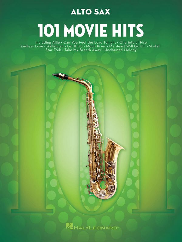 101 Movie Hits: for alto saxophone