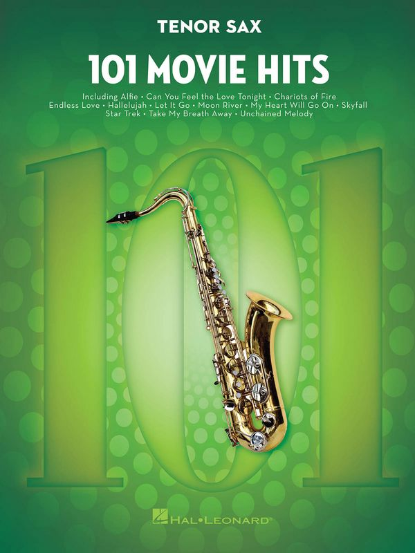 101 Movie Hits: for tenor saxophone