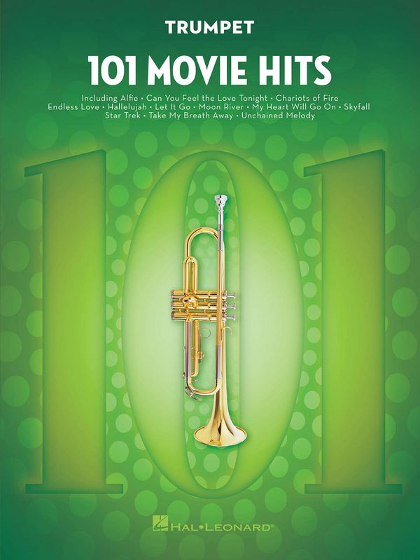 101 Movie Hits: for trumpet