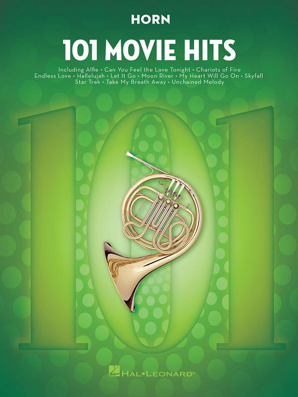 101 Movie Hits: for horn