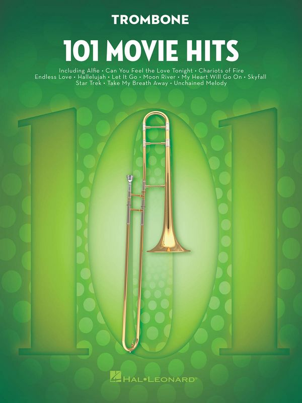 101 Movie Hits: for trombone
