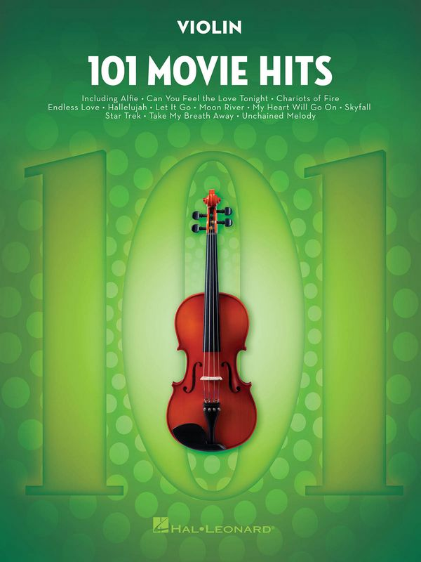 101 Movie Hits: for violin
