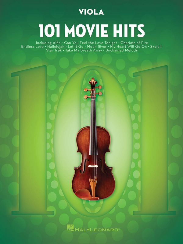 101 Movie Hits: for viola