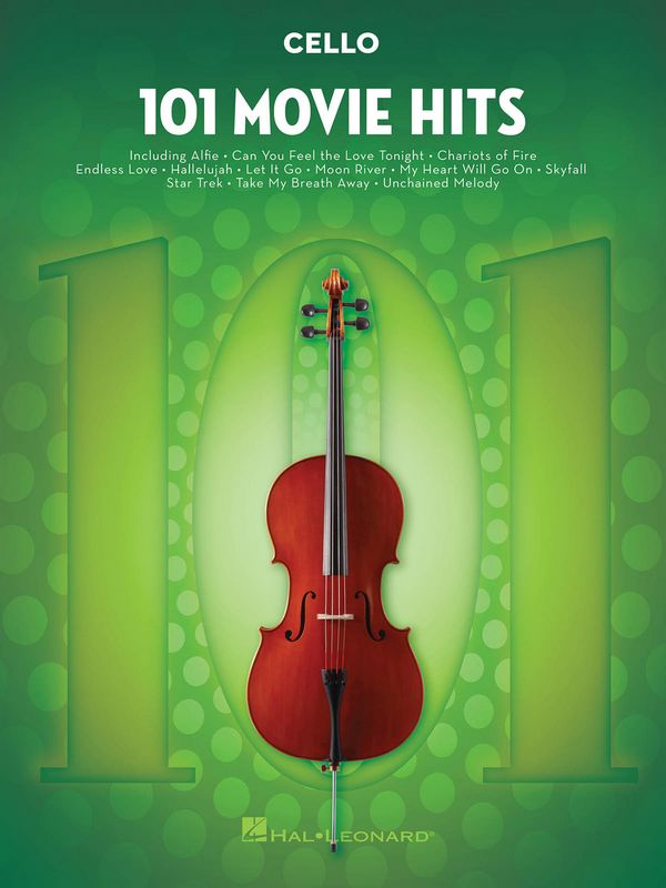 101 Movie Hits: for cello