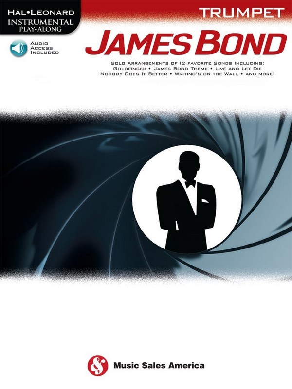 James Bond (+Audio Access): for trumpet