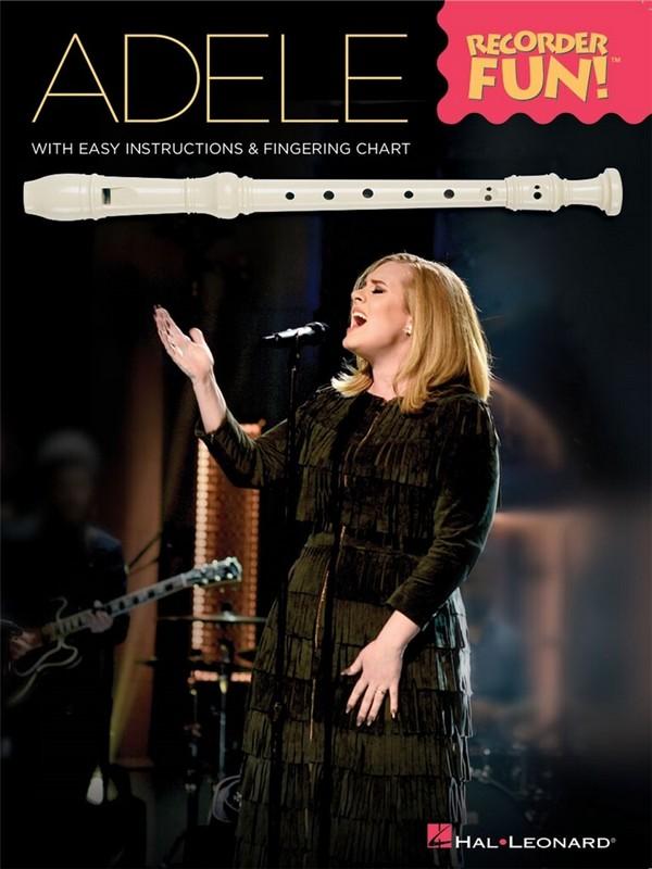 Adele: for soprano recorder (with lyrics)