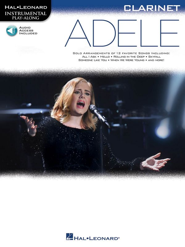 Adele (+Online Audio Access): for clarinet