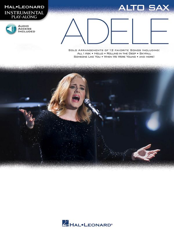 Adele (+Online Audio Access): for alto saxophone
