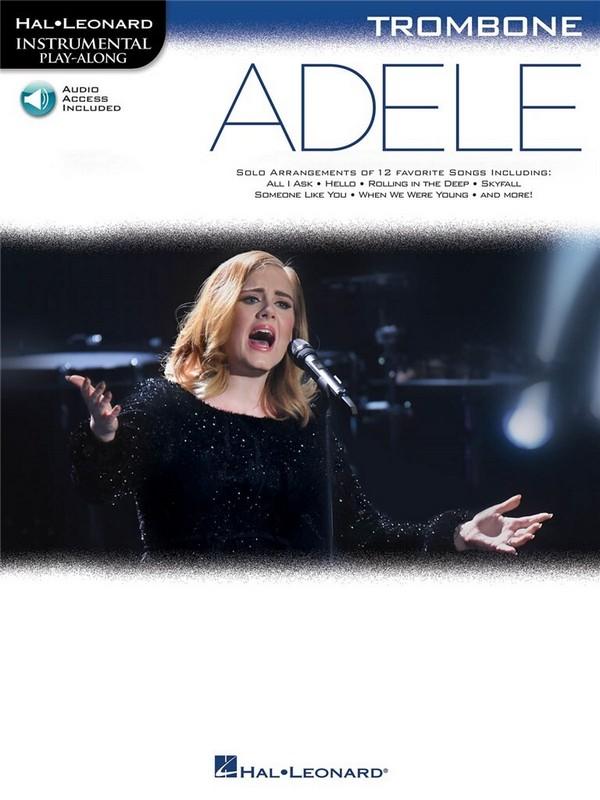 Adele (+Online Audio Access): for trombone