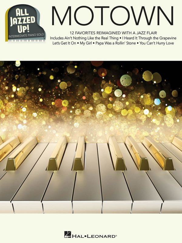 All jazzed up - Motown: for piano solo