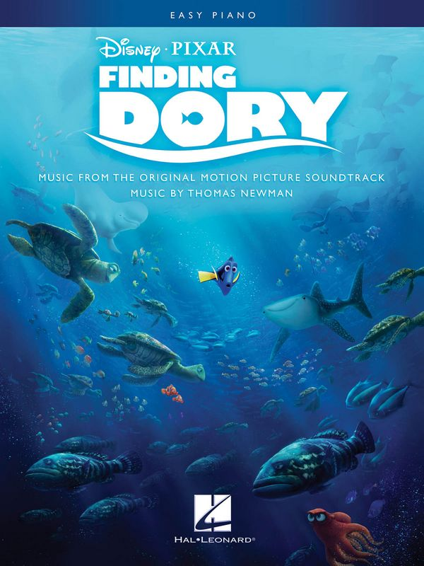 Finding Dory: for easy piano