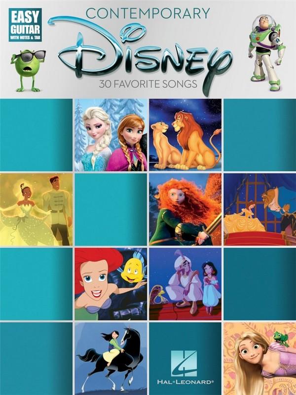 Contemporary Disney: for easy guitar/tab