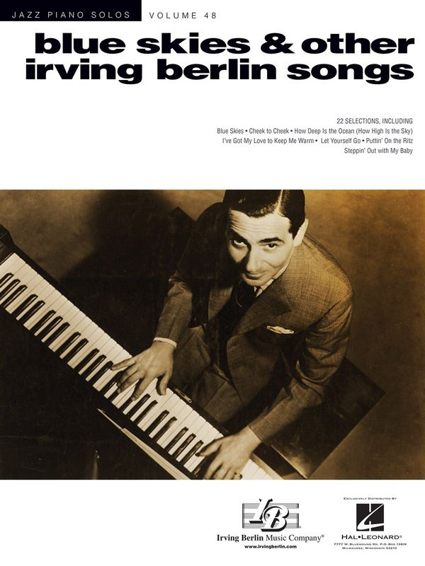 Blues Skies & other Irving Berlin Songs: for piano (with chords)