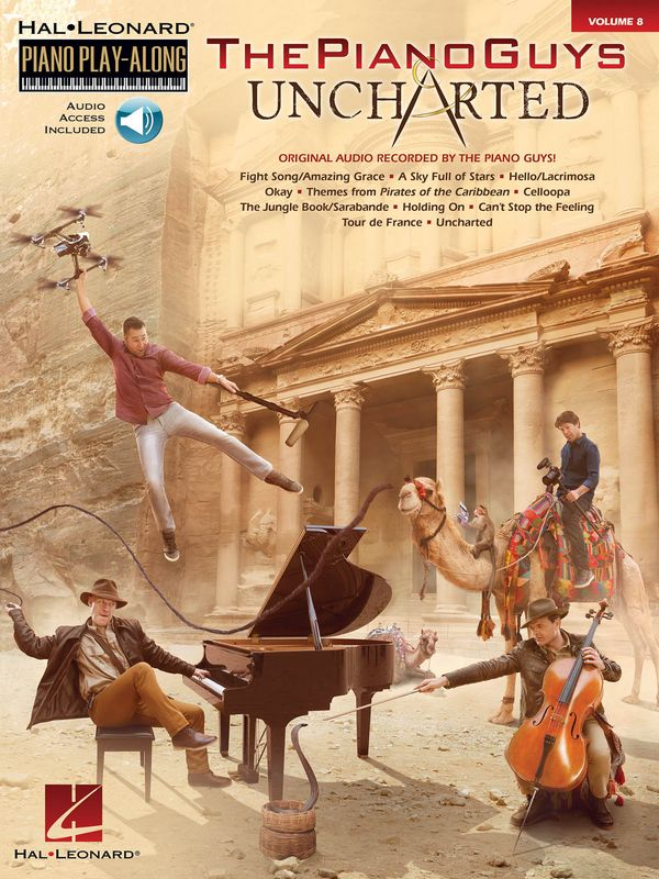 The Piano Guys - Uncharted (+Online Audio Access): for piano (vocal)
