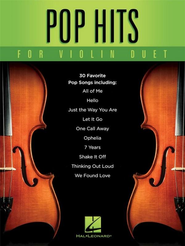 Pop Hits for Violin Duet : - Vollanzeige.