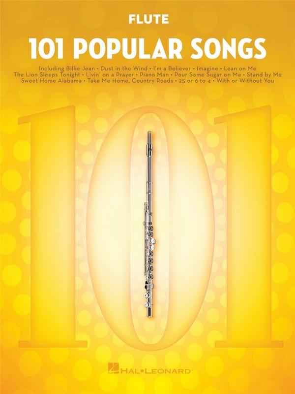 101 popular Songs: for flute
