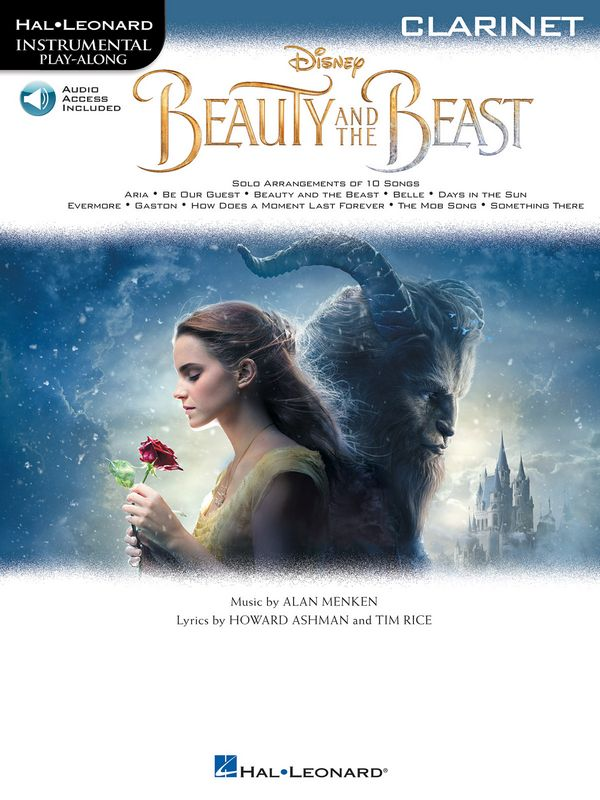 Beauty and the Beast (+audio access) (2017): for clarinet