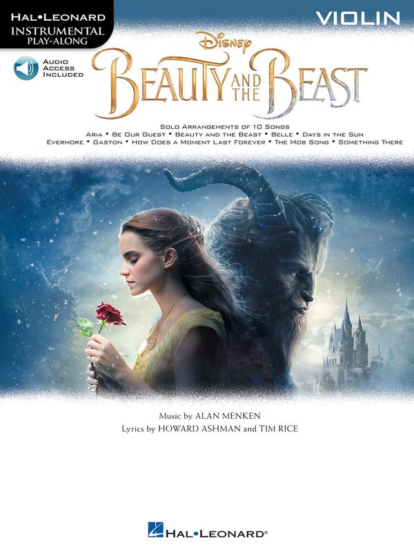 Beauty and the Beast (+Audio Acces): for violin