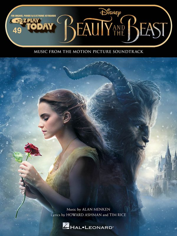 Beauty and the Beast (2017): for keyboard (organ/piano)