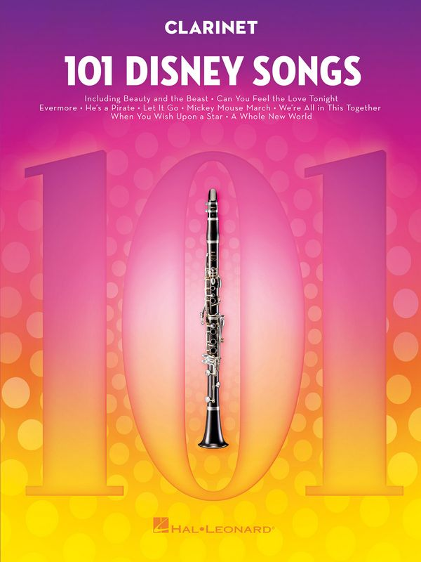101 Disney Songs: for clarinet