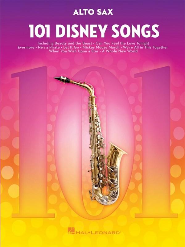 101 Disney Songs: for alto saxophone
