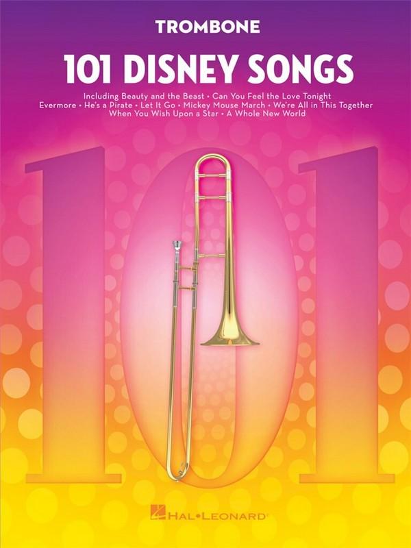 101 Disney Songs: for trombone