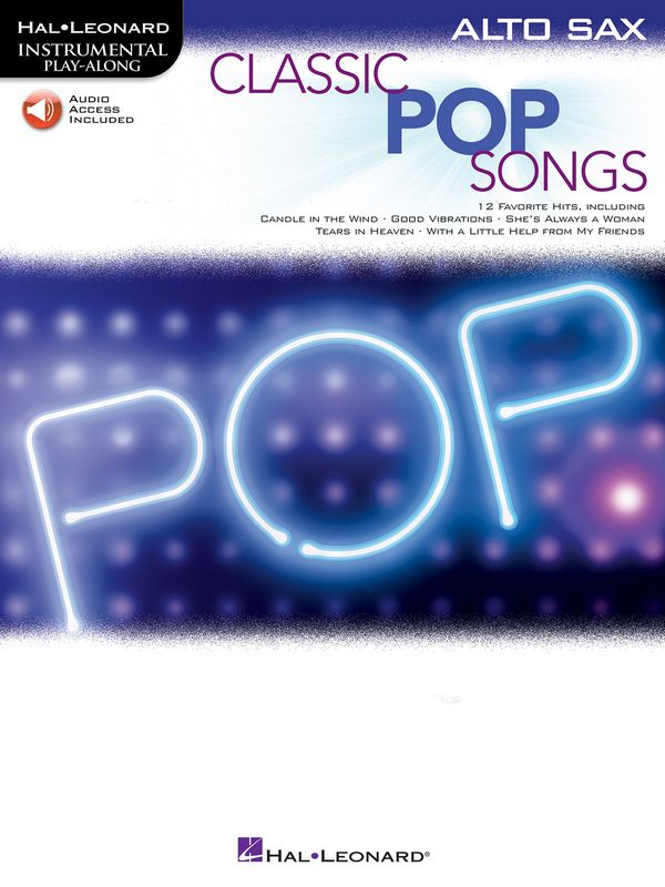 - Classic Pop Songs (+Online Audio Access) :