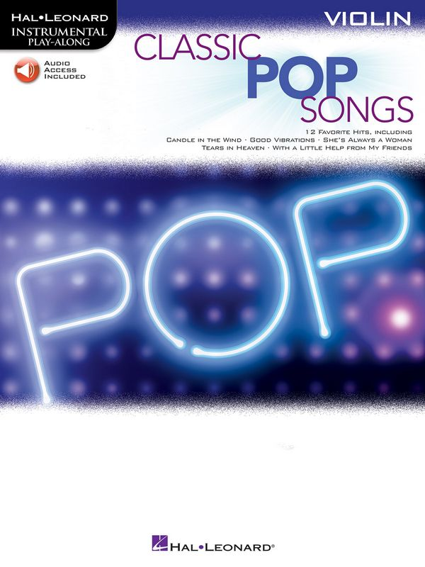 Classic Pop Songs (+Online Audio Access): for violin