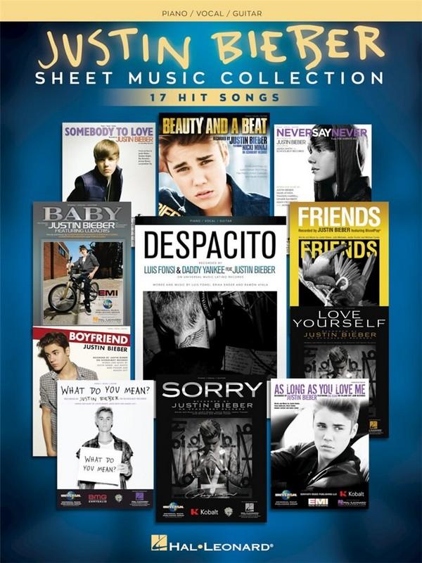 Justin Bieber : Sheet Music Collection - Vollanzeige.