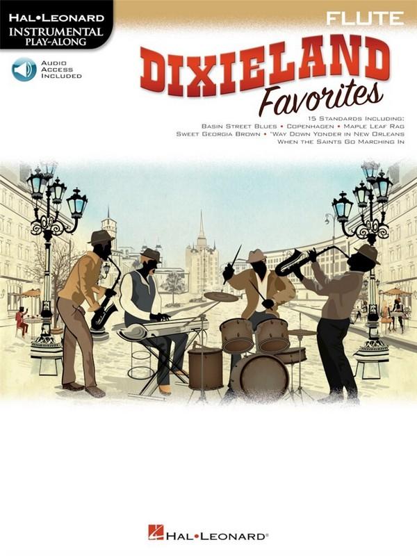 HL00268756 Dixieland Favorites (+Audio Online): for flute