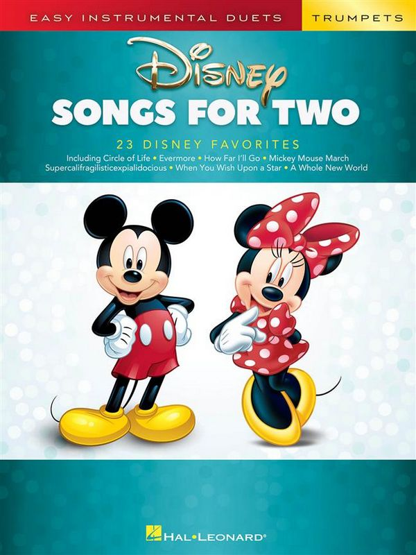 Disney Songs: for 2 trumpets
