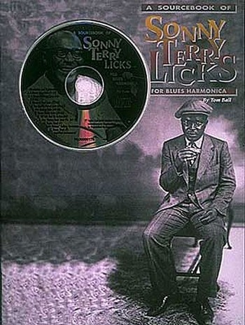 A Sourcebook of Sonny Terry Licks (+CD): for blues harmonica