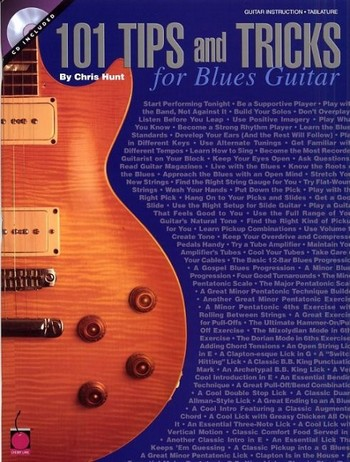 101 tips and tricks for Blues guitar (+CD)