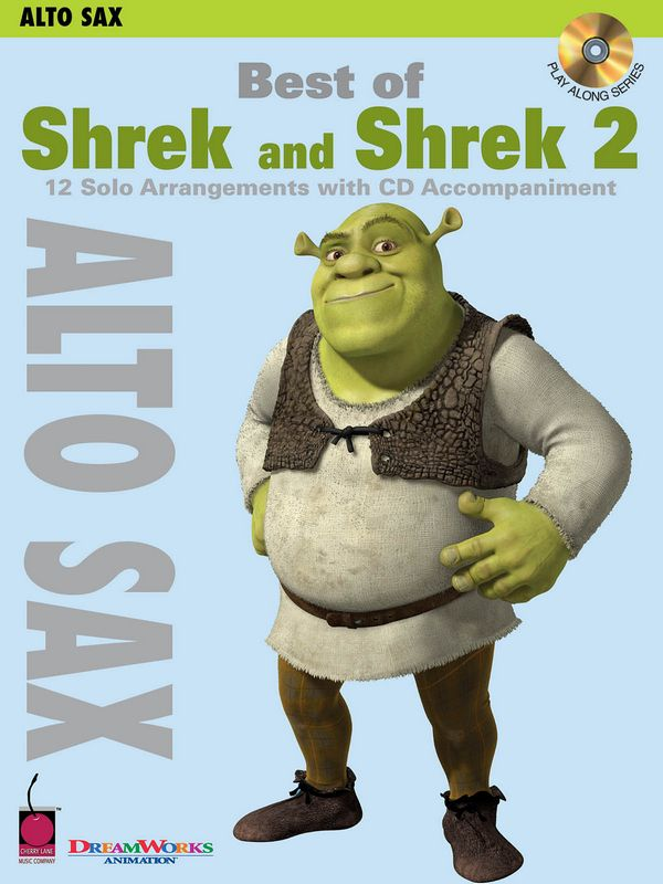 Best of Shrek and Shrek vol.2 (+CD): for alto saxophone