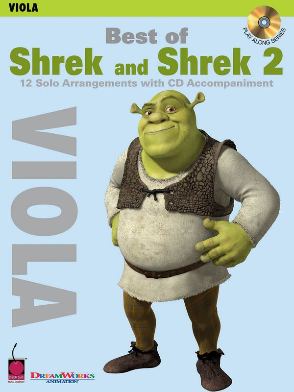 Best of Shrek and Shrek 2 (+CD): for viola