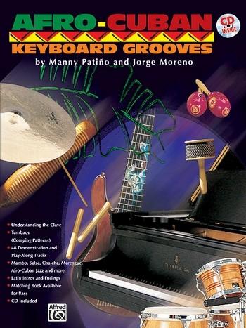 AFRO-CUBAN KEYBOARD GROOVES (+CD) MORENO, JORGE, KOAUTOR