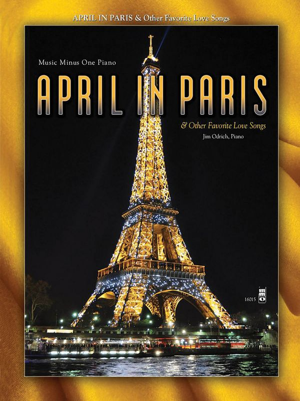 April in Paris (+CD): for piano