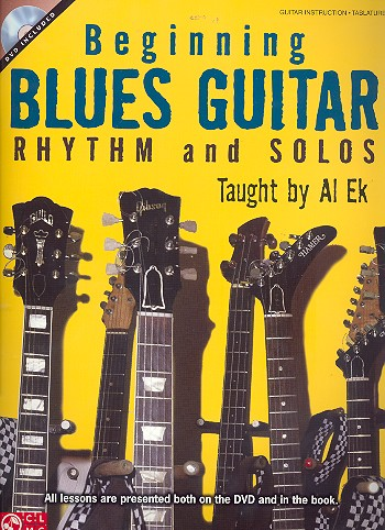 Beginning Blues Guitar (+DVD): for guitar/tab