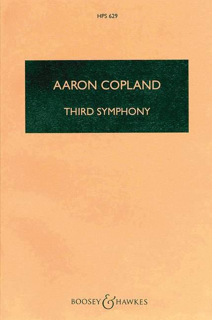 Sinfonie Nr.3: für Orchester Studienpartitur