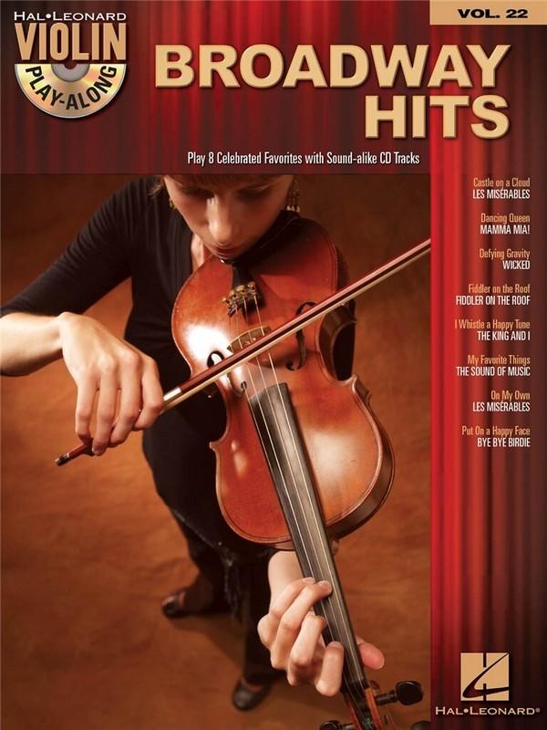 Broadway Hits (+CD): for violin violin playalong vol.22
