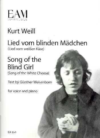 Weill, Kurt - Lied vom blinden Mädchen :