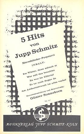 5 Hits von Jupp Schmitz: Potpourri für Salonorchester