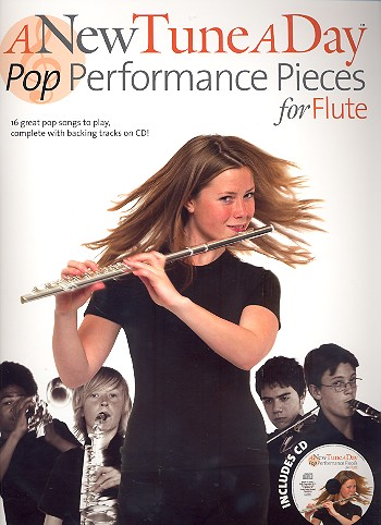A new Tune a Day - Pop Performance Pieces (+CD): for flute
