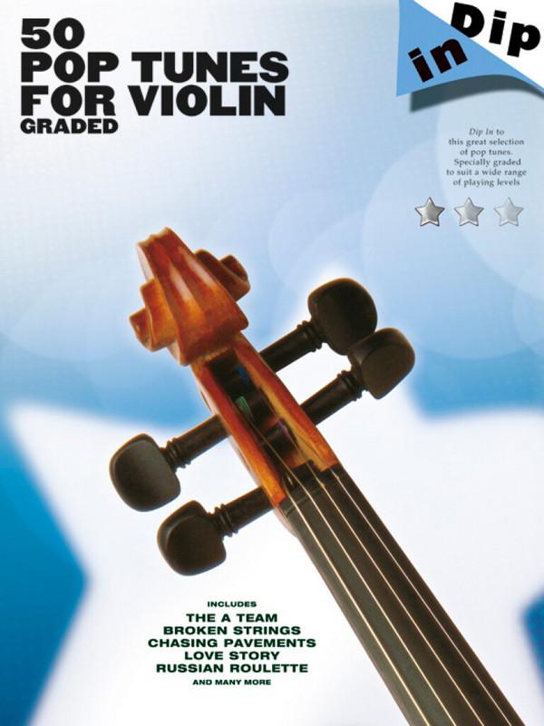50 Pop Tunes: for violin
